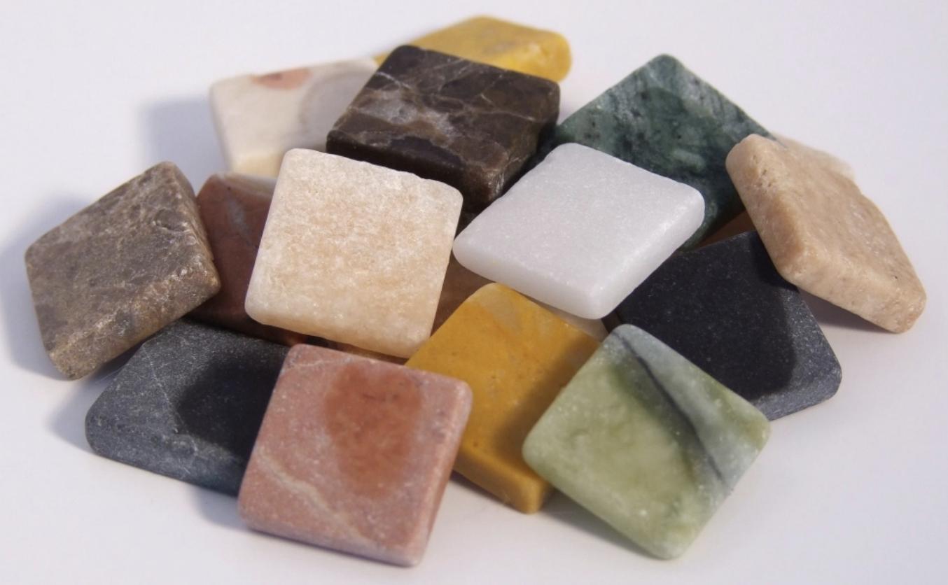 Tesselles : matériel mosaïque