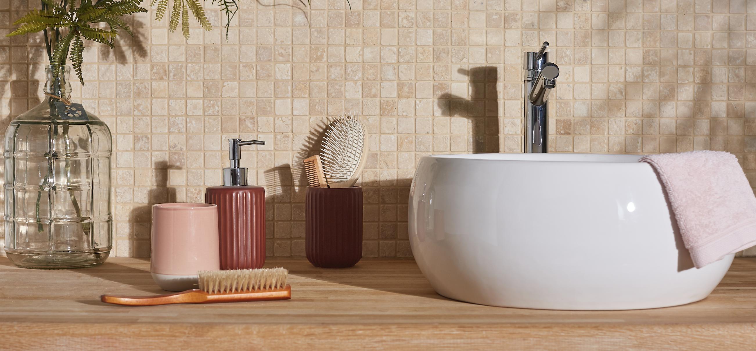 Recouvrir Frise Carrelage Salle De Bain mosaïque salle de bains