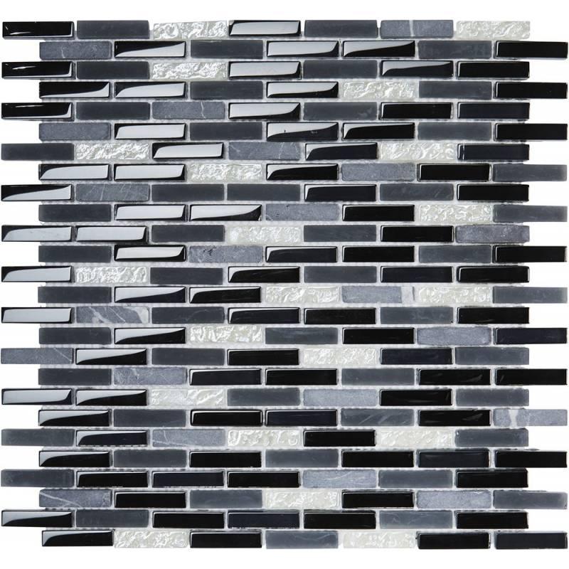 Mur mosaïque salle de bain